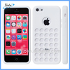 White Soft Rubber Silicone Case For iPhone 5C