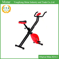 Folding Exercise Bike with Hand Monitor Upright Exercise X-Bike