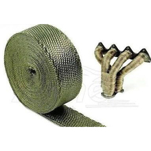 Custom made drywall joint tape black and white fiber glass exhaust pipe fiberglass wrap
