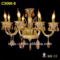 french decorative white new model chandelier lighting C3066-8