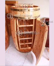 grossiste tonneau en bois occasion acheter les meilleurs tonneau en bois occasion lots de la. Black Bedroom Furniture Sets. Home Design Ideas