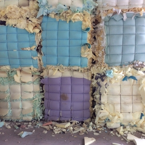 furniture foam scrap without rubbish 100% dry