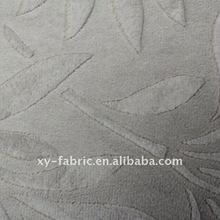 Micro Soft Velour Velvet Fabric With Embossing