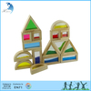 Wholesale china factory Montessori wood toys rainbow blocks mirror