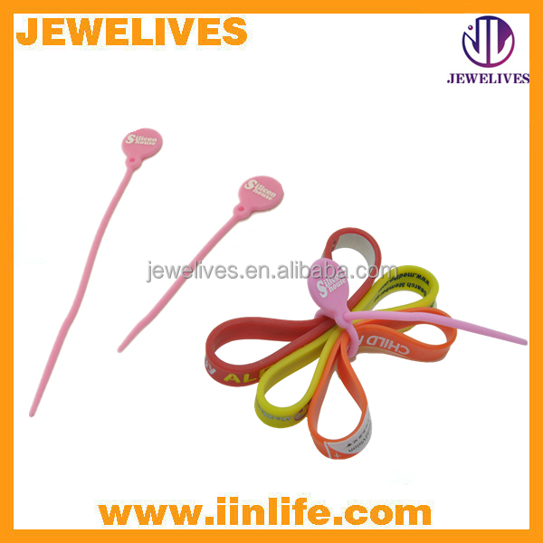 Chinese supplier silicone cable tie products conveniently
