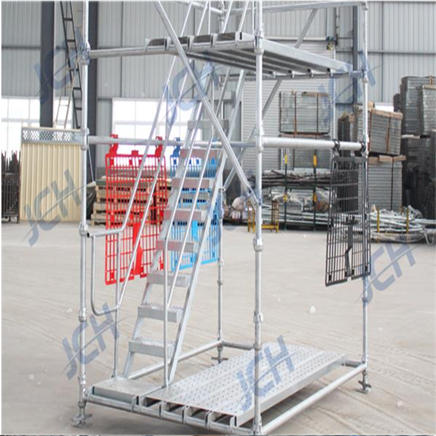 Building Construction Use Cuplock Scaffolding Vertical Standards