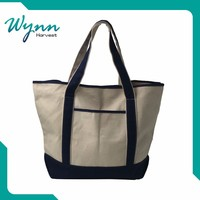 Best Selling China sublimation plain white cotton canvas tote bag