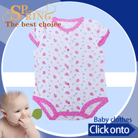 sleeveless summer baby set new born wholesale smocked dresses baby BB053