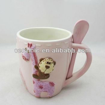 Ceramic animal shaped mugs custom shape mug buy animal for Animal shaped mugs