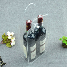 New design 2 bottles PVC plastic ice wine cooler bag for picnic and outdoor alibaba assurance 2017