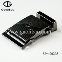 Gaolibao newly designed wholesale 40mm zinc alloy army buckle belt buckle for man SZ-400298