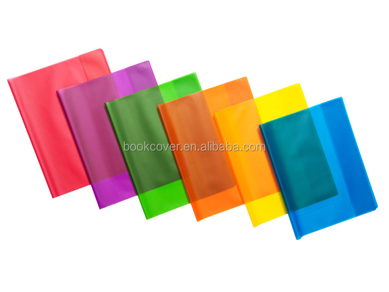 Exercise Pvc Frosted Book Cover With Inner