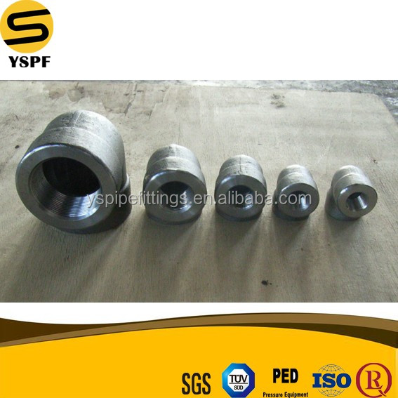 Petrochemical Oil field Gi Dimension Forged pipe fitting ASTM A694 F42 Carbon Steel Socket Welding 4'' 30 degree elbow fittings