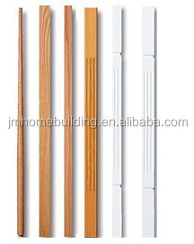 hardwood primed baluster for staircase indoor stairs