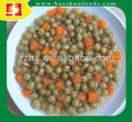 Canned peas & Carrot