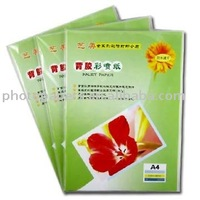 cast coated slef-adhesive glossy photo paper/sticker paper