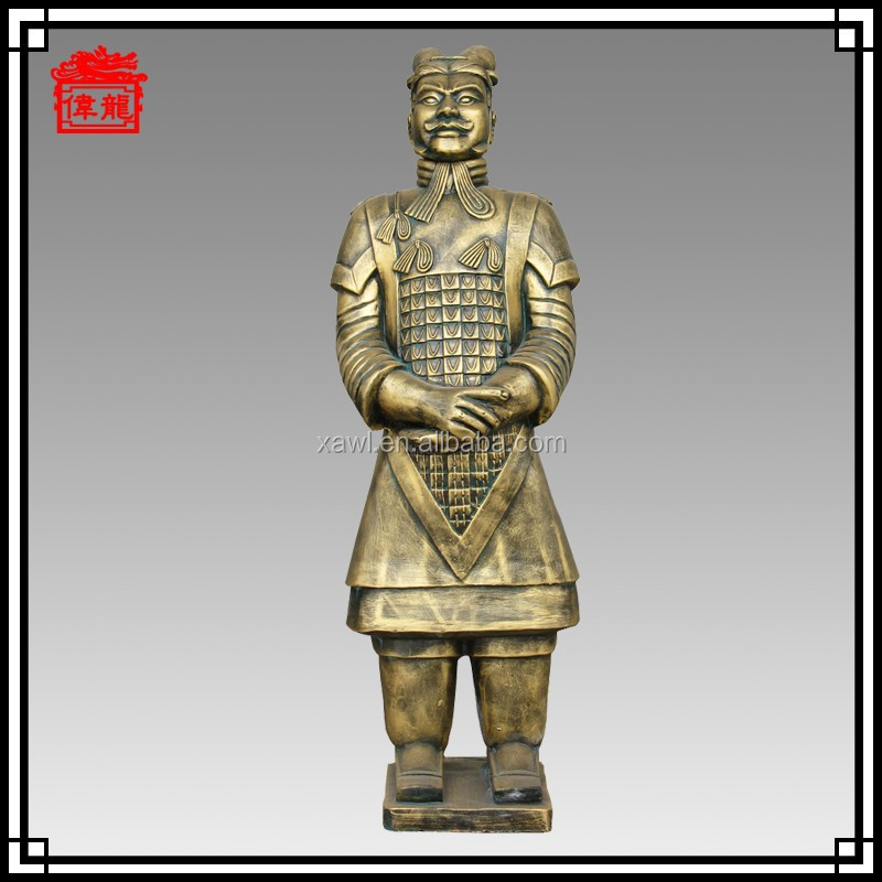 120cm ceramic for home and hotel decor figurine terracotta warriors General