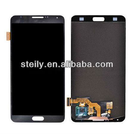 Original for Samsung Galaxy Note 3 LCD Touch Screen Digitizer Complete Assembly white and gray