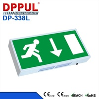 3.6V Back Battery IP20 LED Emergency Exit Light