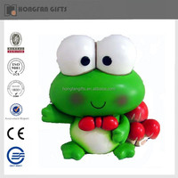 green home cute resin frog decoration