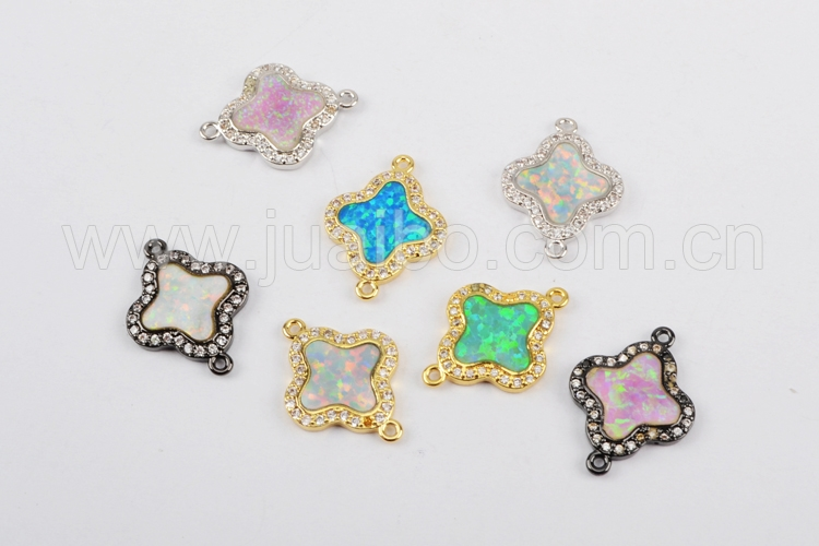 WX559 New arrival cheap bezel setting cheap blue synthetic opal jewelry
