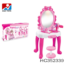 2017 Hot plastic kids dressing table plastic makeup toy HC352339