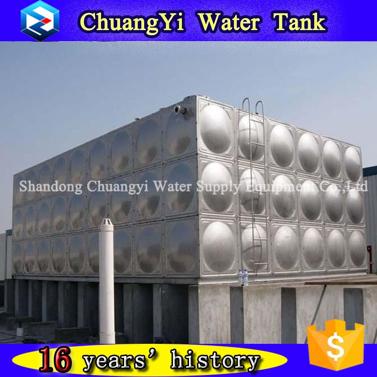Stainless Steel Water Storage Tank Price for Sale / 304 316 SS Food Grade Quality Assured
