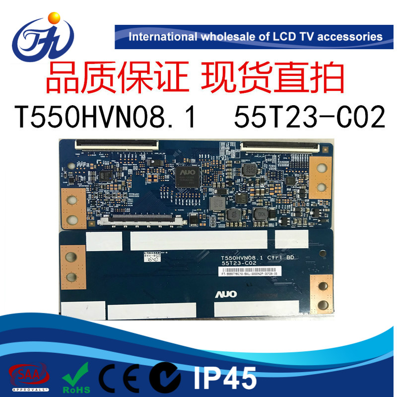 Logic board T550HVN08.1 55T23-<strong>C02</strong> of original HISEN <strong>LED</strong> 55K220 LCD TV accessories