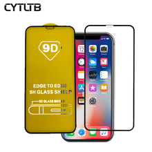 2019 9D Glass For iPhone XS /XR /XS MAX Screen Protector For Apple 8 7 6 Tempered Glass Screen Protector