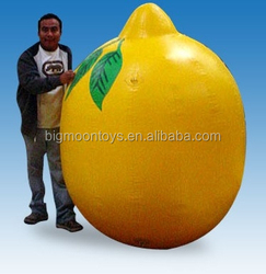 giant advertising inflatable lemon fruit for sale