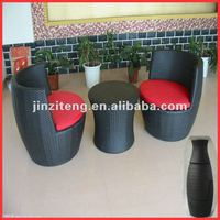 2013 new design aluminum frame with PE rattan sofa
