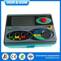 Measuring Range 0-2000ohm Real Digital Earth Tester DY4100 Ground Resistance Tester Meter