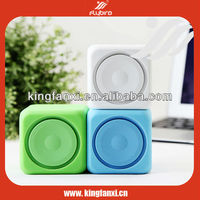High quality dice shape portable mini multimedia speaker