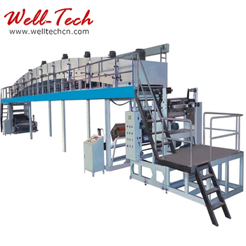 Scratch resistant film coating machine
