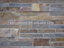 classical rust wall panel/stone cladding for interior or exterior decoration