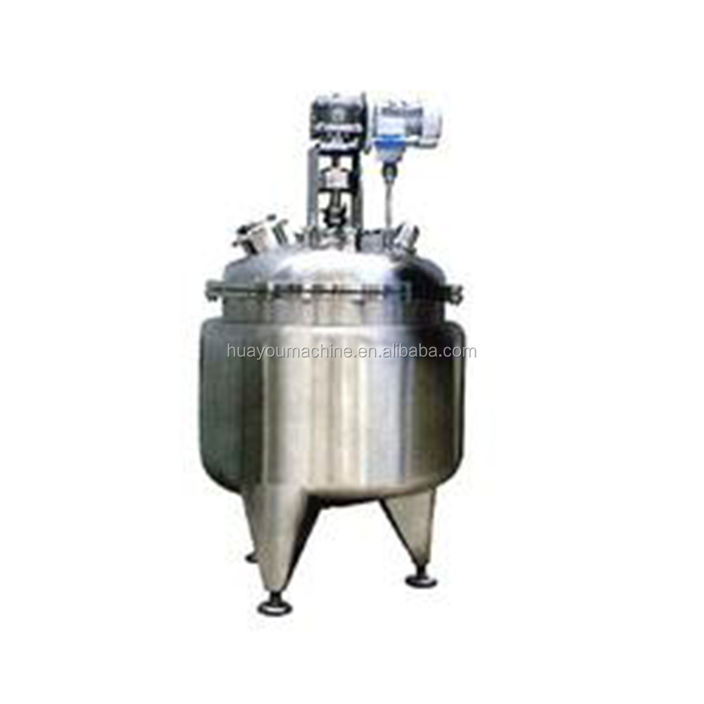 chemical reactor/1000L electric heating stirrer tank/pressure vessel/limpet coil reaction vessel