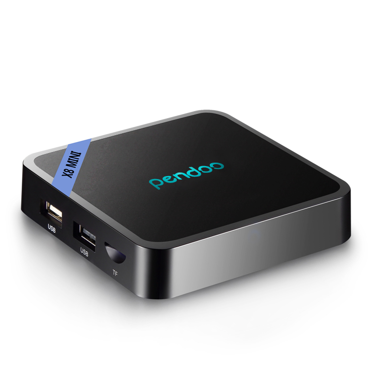 Amlogic S905W Mini TV Box android 7.0 Pendoo X8 Mini hd media <strong>player</strong> 1GB ddr3 ram 8GB rom hd live iptv/ott box android tv <strong>player</strong>