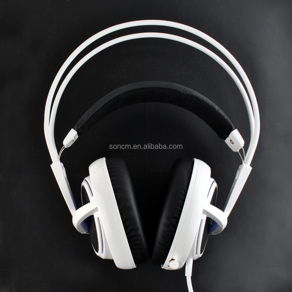 High quality best headset, Big size LED headphones for gaming and chatting headsets