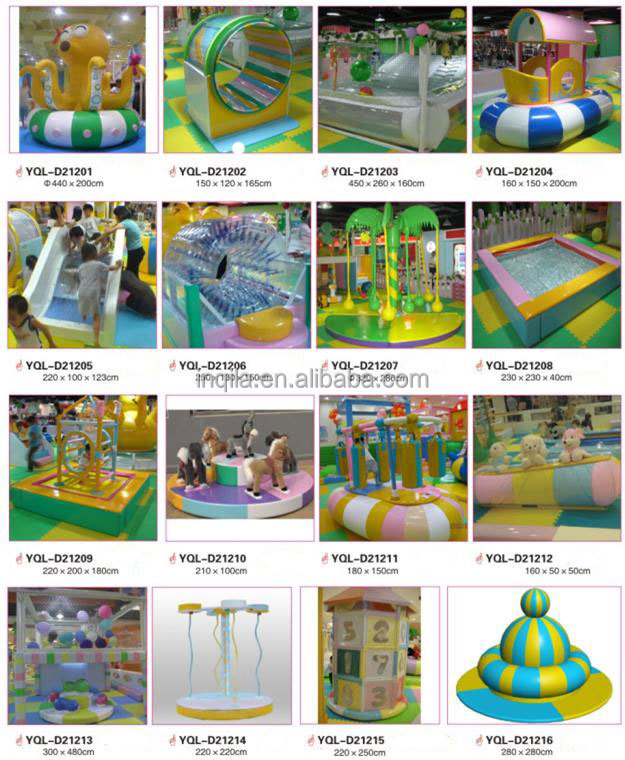 Nautical theme children indoor playground naughty castle