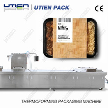 Fast food thermoforming Vacuum MAPpacking machine DZL