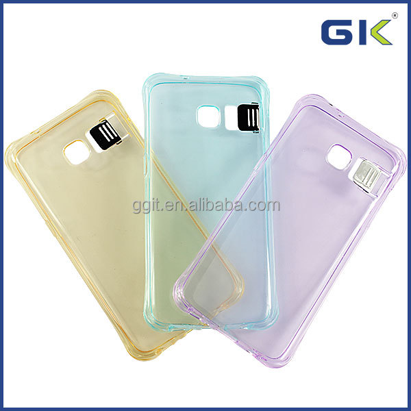 [GGIT] Phones Accessories Transparent Soft TPU Light Up Phone Case for Samsung S7