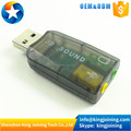 USB 5.1 sound card external sound card USB sound card 5.1 channel USB sound card 3D analog sound