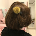 Children hair accessories hair ball hairpin hair rope lovely girl baby hairpin