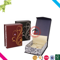 Custom decorative clam shell packaging box
