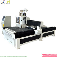 Full Automatic 3D Three Process ATC CNC Cutting, Engraving Wood Router Machine