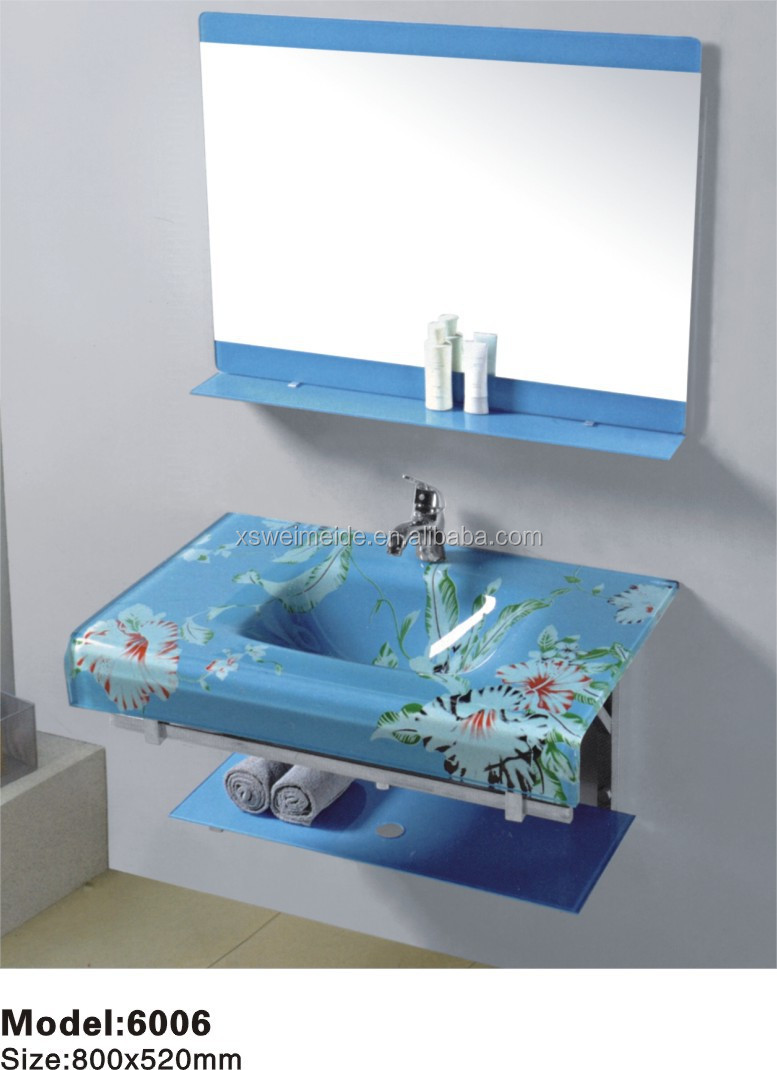Toilet hand wash basins toyo glass basin(WMD-06), View small hand ...