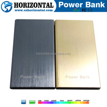 Japanese mobile phone brands good quality metal book power bank for Christmas Gift