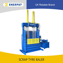 Hydraulic Vertical Waste Tyre Baler Equipment With Factory Price