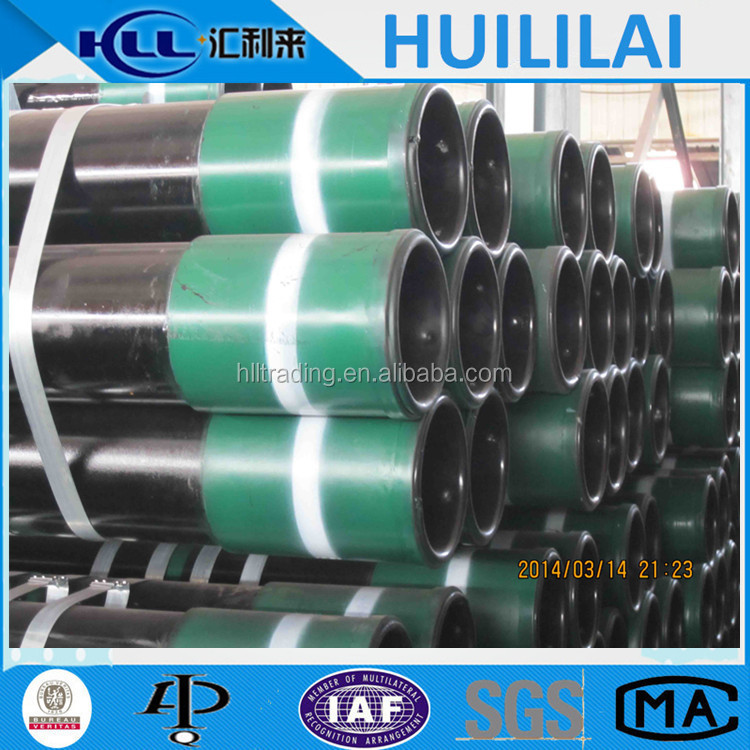 Hot Sale API 5cAPI 5CT J55,K55,N80,L80,C90,T95,Q125 Oil casing steel pipet q125 Steel Casing Pipe