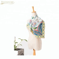 Butterfly Printed Girls 100% Wool Wholesale Pashmina Scarf